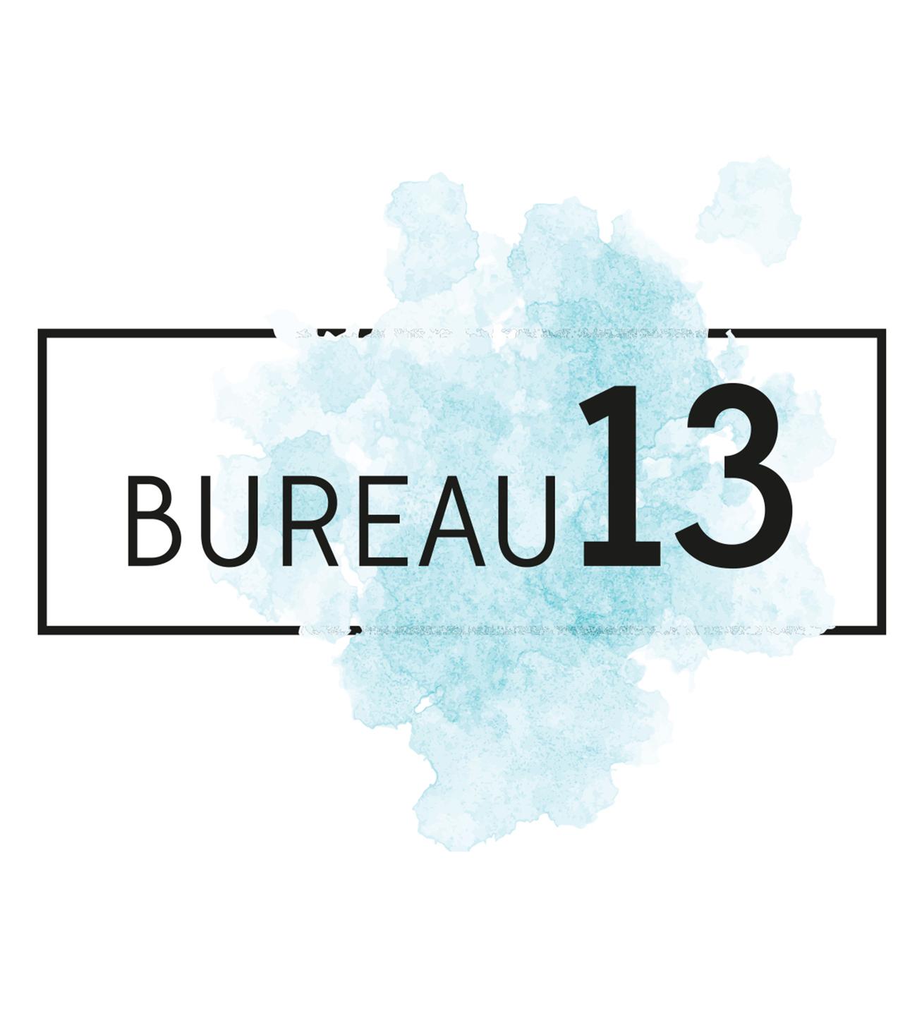 Bureau13 Logo Grafisch Ellen Willemsen