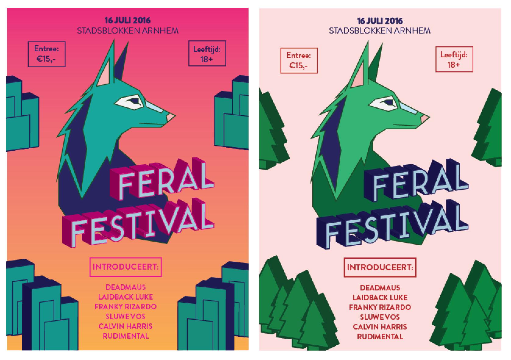 Poster Feral Festival