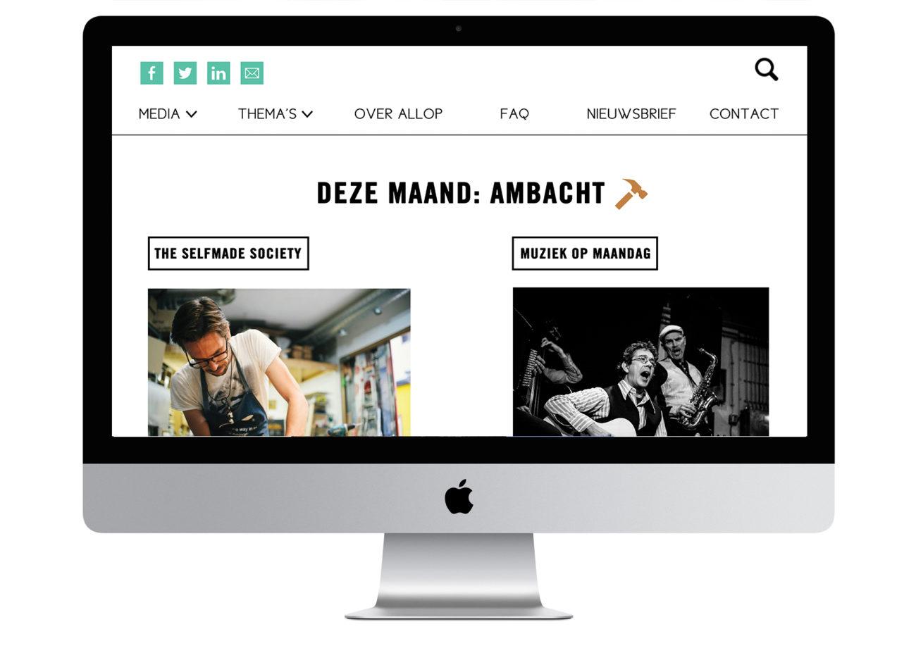 Allop Magazine Website